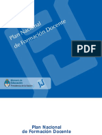Plan_nacional de Formación Docente