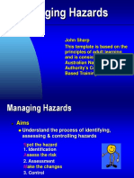 Managing Hazards -Woodside