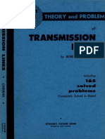 RF Feedline - Theory and Problems of Transmission Lines (by Ph.D Robert a. Chipman October 1968)