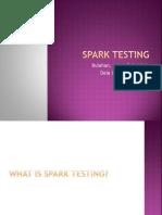 Spark Testing