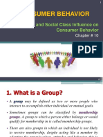 Ch 10 the Family and Social Class Influence on CB