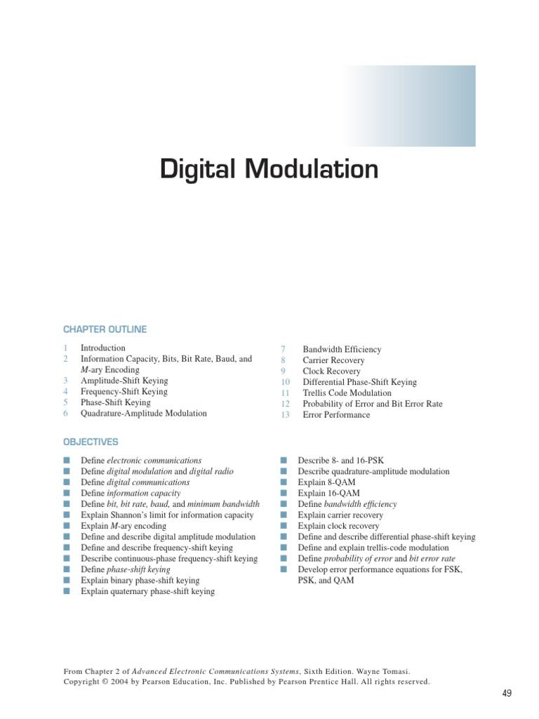 Digital Modulation | Digital Signal | Modulation