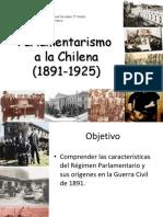 El Parlamentarismo a La Chilena 100924214544 Phpapp02