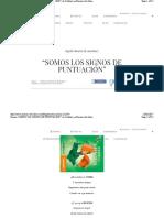 """Poema """"Somos Los Signos de Puntuación"""", De Cuñataí, En Poemas d"""