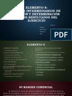 ELEMENTO 8 (Plan contable)