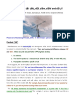 Unit of Measure - dB, dBd, dBi, dBm, dBW and dBmV (By Larry E. Gugle K4RFE).pdf