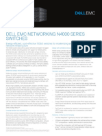 Dell Networking N4000 Series SpecSheet