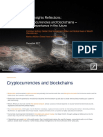 Cio Insights Reflections - Cryptocurrencies and Blockchains - Emea - Client Ready