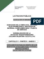 ET 133-33-13.2 Servicios Auxiliares-control Protecciones y Telecomunicaciones