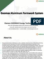 Goomax Aluminium Formwork