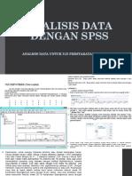 Analisis Data Dengan Spss