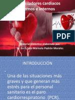 Desfibriladores cardiacos