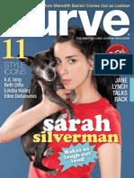 Curve Magazine -April 2010