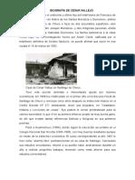 Cesar Vallejo Biografia y Obra Literaria