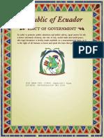 Zinc en Aguas Norma Ecuatoriana