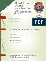 Petitorios mineros exposición