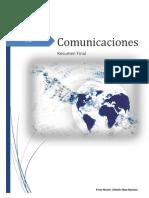Resumen Comunicaciones -2014