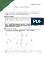 Práctica 3 Simulación Transistores