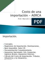 Material Teórico - Costo de una Importación.