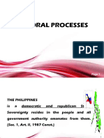 Electoral Processes Reviewer