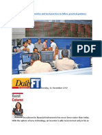 Investments in listed securities and best practices to follow.docx