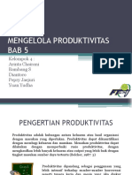 MENGELOLA PRODUKTIVITAS
