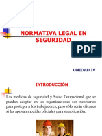 Unid.4,Normativa Legal en Seguridad