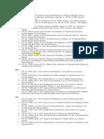 Del Castillo List of Cases 2013_January_April_July_October