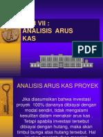 Skb Bab Vii Analisis Arus Proyek