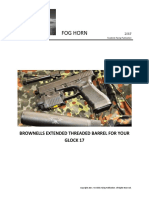 Brownells Glock 17 Threaded Barrel