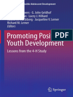 [Edmond P. Bowers, G. John Geldhof, Sara K. Johnso(B-ok.org) Promoting Positive Youth Deelopment. Lessons From the 4h Study