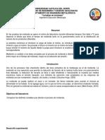 Informe Preparación Mecánica