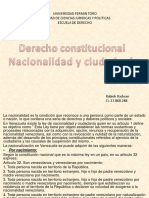 Derecho Constitucional Nacionalidad y Ciudadania Rabieh Radwan