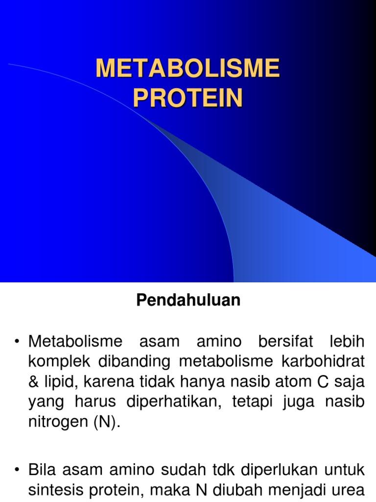 Ppt metabolisme protein dan asam amino powerpoint presentation.