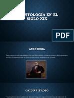 Odontología en El Siglo Xix
