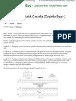 Cara Membuat Balok Castella (Castella Beam) _ Mikhamarthen's Blog