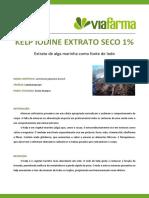 Kelp Iodine Extrato Seco 1