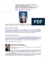 Reina de La Paz de Medjugorje Mensajes 2005 20116