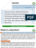 5. Programming in C Functions 7