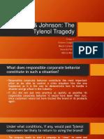 Johnson & Johnson Tylenol Tragedy