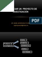 COMO INICIAR EL PROYECTO DE INVESTIGACION.ppt
