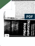 Diccionario de Bourdieu
