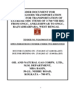 Final Tenderdocument ONGC Transport of Rigs