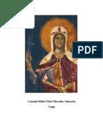 Canonul Sf m Chiriachi