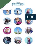 Frozen Naljepnice Za Printanje Rodjendanska Zabava