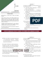 Public Administration Mains 2009 Paper i Vision Ias
