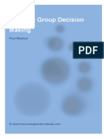 Fme Group Decision Making