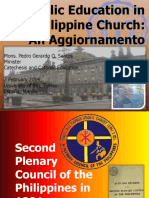Catholic Education Aggiornamento2014