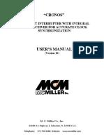 Cronos Current Interrupter User Manual_Version 10