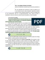 Apuntes Unidad 3.3 Punto de Pedido y Volumen Óptimo de Pedido